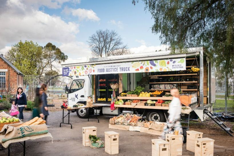 ASRC Food Justice Truck actual photo